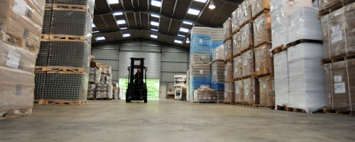 The new storage facility at Epperstone